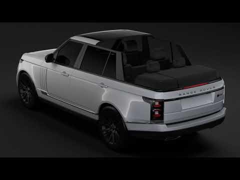 3D Model of Range R SVAutobiography Landaulet LWB L405 2018