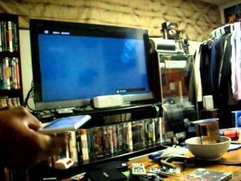 Demonstrating The PSP Go Fullscreen Adaptor