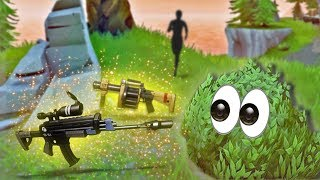 LURING PEOPLE WITH LEGENDARY WEAPONS!   Fortnite Battle Royale Funny Moments