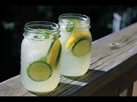 Cucumber Limonade - Summer Drinks