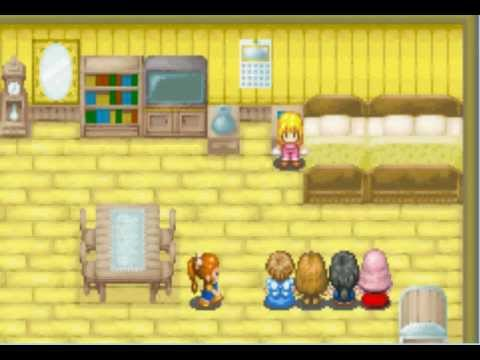 Harvest Moon: More Friends of Mineral Town -- Slumber Party