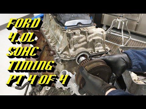 Ford Explorer Ranger 4.0L SOHC Startup Rattle Fix: Timing Walkthrough Pt 4 of 4 Engine Assembly
