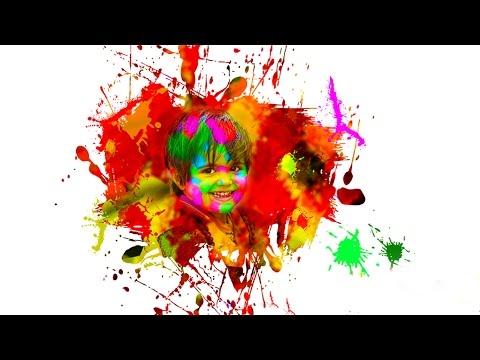 Color splatter effect in Photoshop [Holi Special]