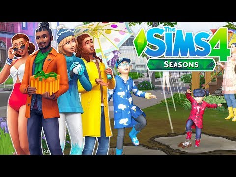 THE SIMS 4 SEASONS NEWS🌞☔⛄🍂 // HOLIDAYS, POOL PARTIES, SUMMON THUNDERSTORMS, CRAFT GIFTS