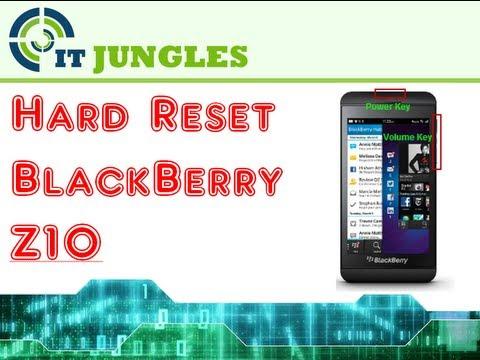 How to Hard Reset BlackBerry Z10 (4 Ways)