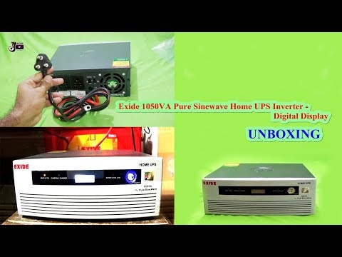 Exide 1050VA Pure Sinewave Home UPS Inverter