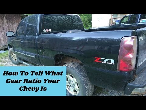 Where To Find Your Chevy Or Gmc Truck Gear Ratios, GU4, GU6, GT4, GT5 | How To