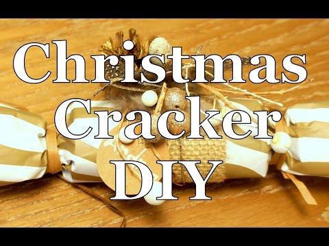 How to make a Christmas Cracker