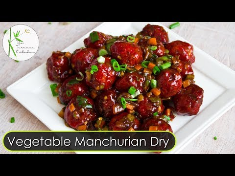 Vegetable Manchurian Dry | Veg Manchurian Dry| Indo-Chinese Recipe ~ The Terrace Kitchen