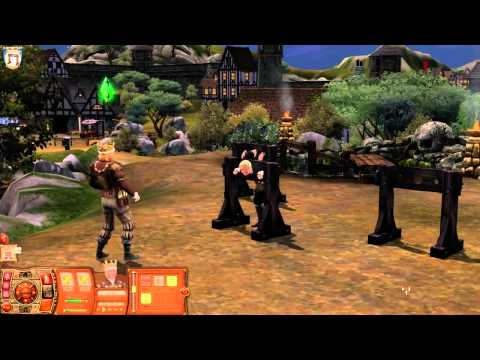 The Sims Medieval: Pirates and Nobles Tutorial Trailer