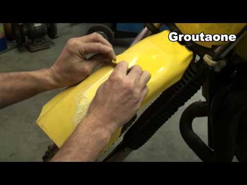Polishing Motorcycle Plastic Tricks