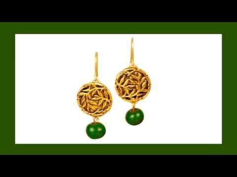 Antelope Beads - How to Make Button Earrings