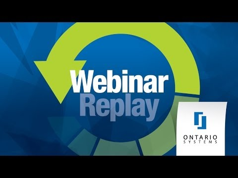 Ontario Systems Webinar: The Patient's Role In Your Revenue Cycle Strategy