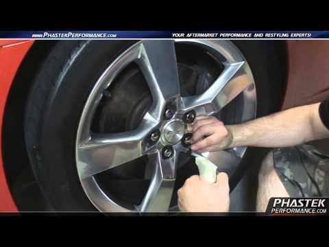 2010-2014 Camaro Wheel Bowtie Installation