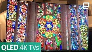 Samsung QLED 4k TVs: First Look