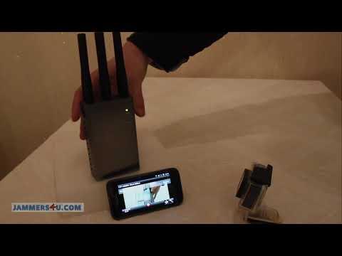 Jammer Jamming Wireless streaming 2.4Ghz GoPro Camera ( Jammer Vs GoPro )