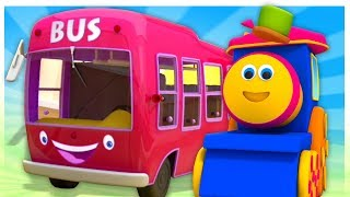 Rimas De Berçário Para Crianças | Bob The Train Vídeos de desenhos animados