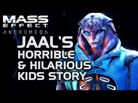 Mass Effect Andromeda - Jaal's Horrible & Hilarious Kids Story