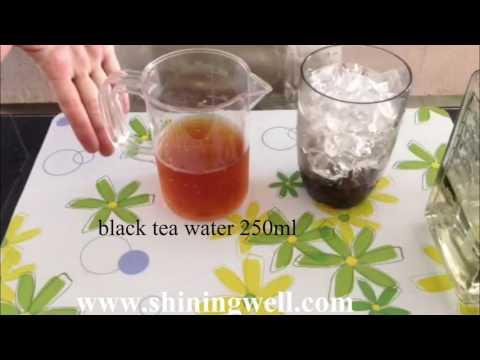 roselle flower bubble tea by shiningwell bubble tea