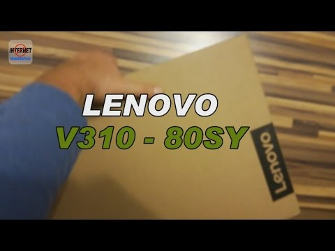 Lenovo IdeaPad V310 15ISK  [Unboxing]