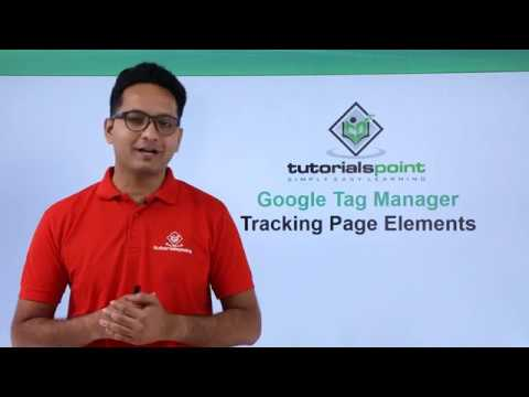 Google Tag Manager - Tracking Page Elements