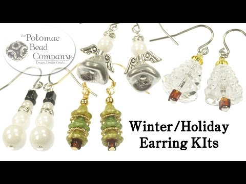 Winter, Christmas & Holiday Earring Kits (2015-2016)