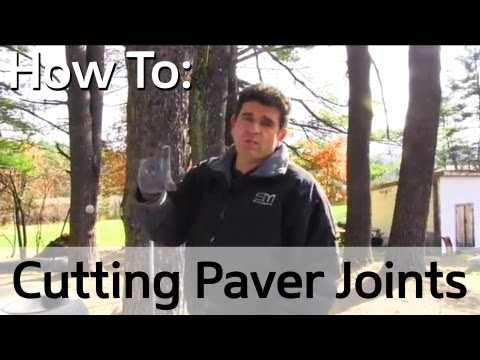 Patio - How To Cut Joints