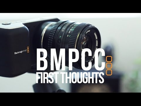 Blackmagic Pocket Cinema Camera First Thoughts and Comparision