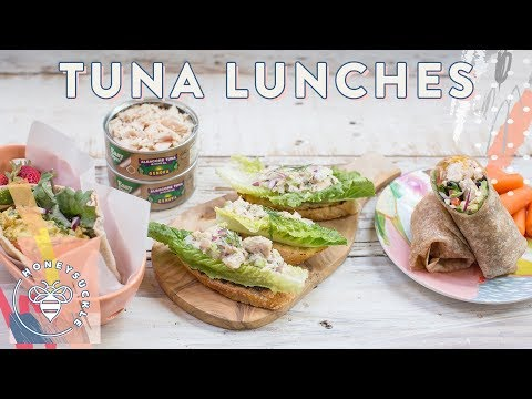 3 Tuna Salad Lunches with Genova