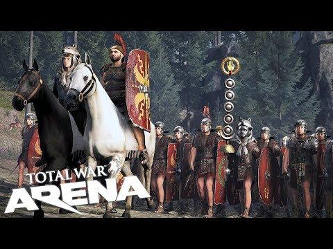 Total War: Arena | ROMAN BATTLE COMMANDER! | Total War Arena Gameplay #1
