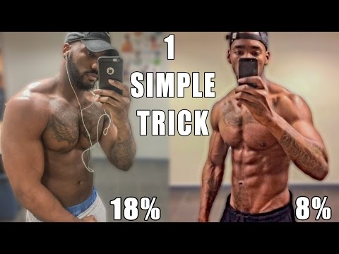 Best Cardio To Drop Your Body Fat Percentage (SIMPLE TRICK)