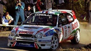 Didier Auriol Tribute Toyota Corolla Seat Cordoba WRC 1997-2000