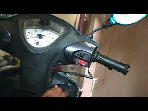 How to Ride a Scooter if Accelerator cable is cut?