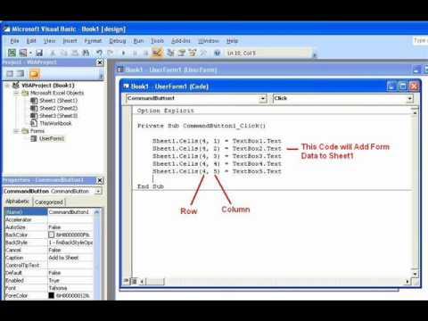 Excel-2007  VBA - Lesson-2
