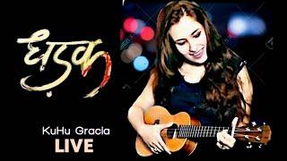 Dhadak | KuHu Gracia Live |  Title Song | Ukulele Cover | Unplugged