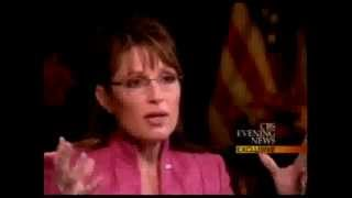 COMPLETE GIBBERISH: Katie Couric appalled by Sarah Palin