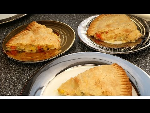 Chicken Pot Pie!  EASY * How to Make Pot Pie Recipe