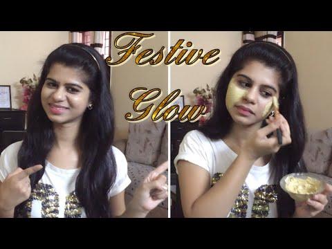 DIY : Diwali SkinCare Routine / Get Gorgeous Glowing Skin / Skincare Tutorial
