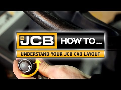 How to understand your JCB cab layout
