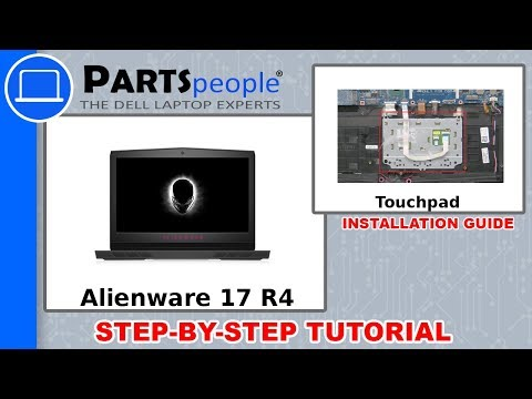Dell Alienware 17 R4 (P12S001) Touchpad How-To Video Tutorial
