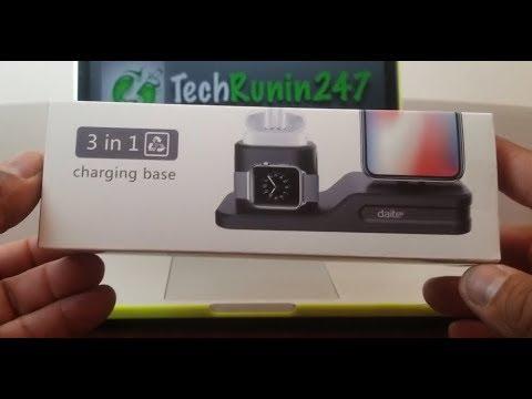 Lewote 3 in 1 Apple Device Charging Dock, ( 2018 ).