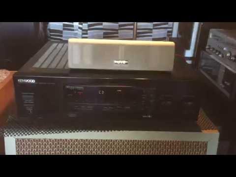 KENWOOD KR-V5090 5 Chn Audio Video Surround Receiver (50W x 5)