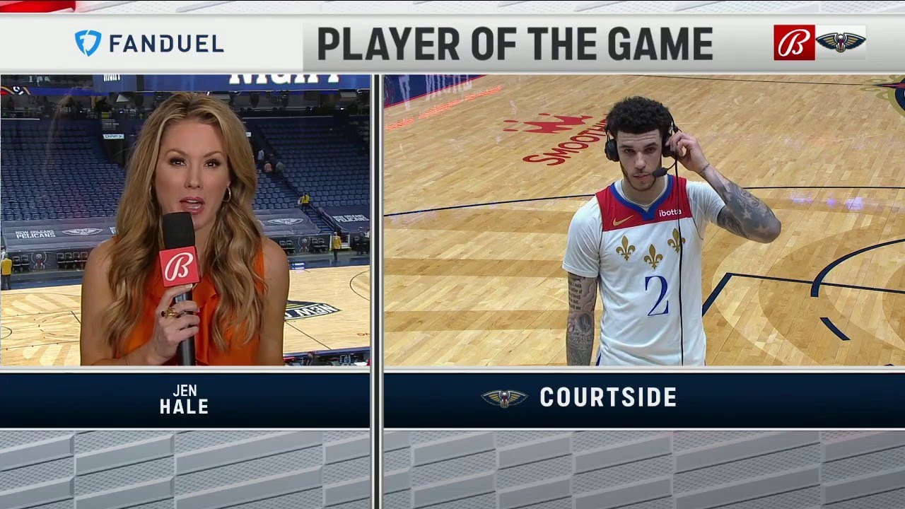 Lonzo Ball Player of the Game Interview 5/4/21