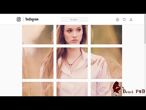 How to Create Multi Image Instagram Collages using Adobe Photoshop CC - Tutorial