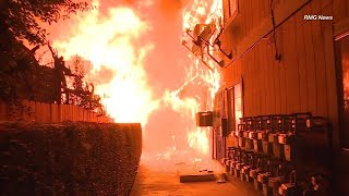 Download Heroes Save Families From Raging Apartment Fire Video