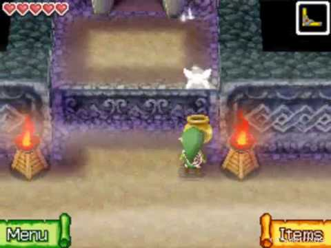 The Legend of Zelda Phantom Hourglass Walkthrough -Temple of the Ocean King, 3rd Visit- Part 14