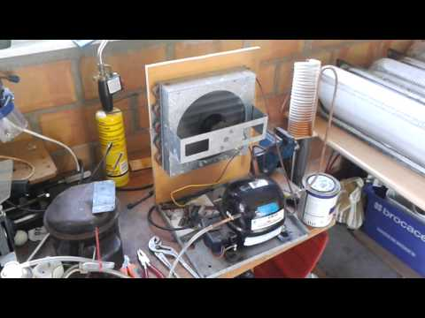 Homemade refrigeration system