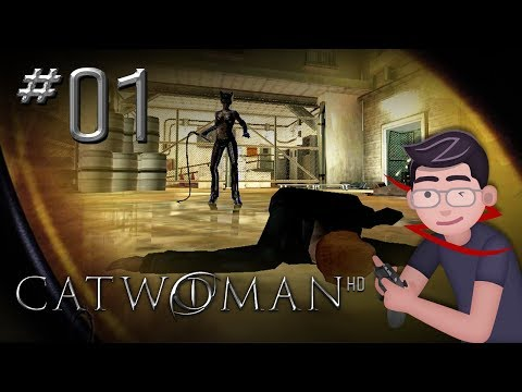Catwoman HD - Let's Play #01 - Let the cheese-fest commence!