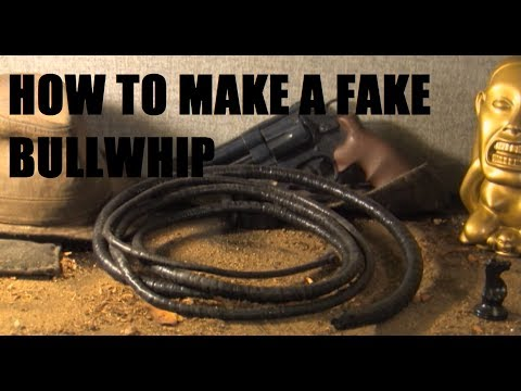 How to make a fake Bullwhip