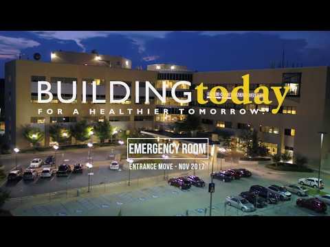 HCGH ER Entrance Move (Nov. 15, 2017 - Summer 2019)